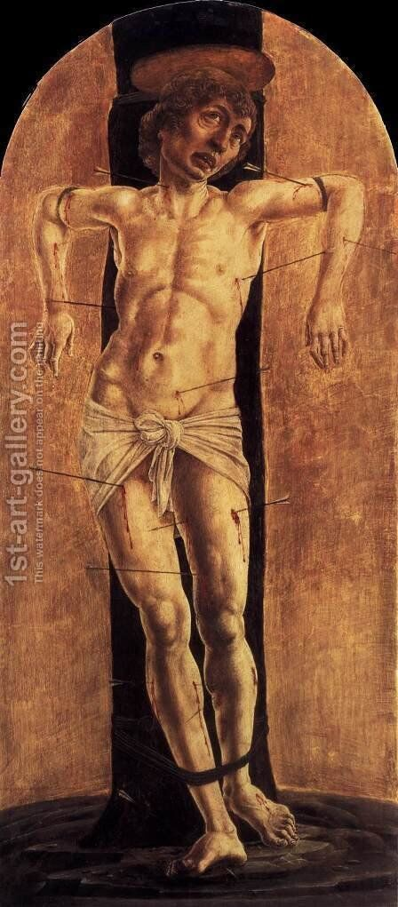 St Sebastian by Cosme Tura - Reproduction Oil Painting