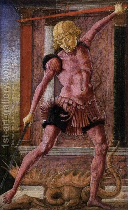 St George by Cosme Tura - Reproduction Oil Painting
