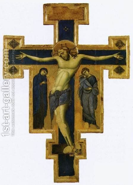 Crucifix 2 by Italian Unknown Master - Reproduction Oil Painting