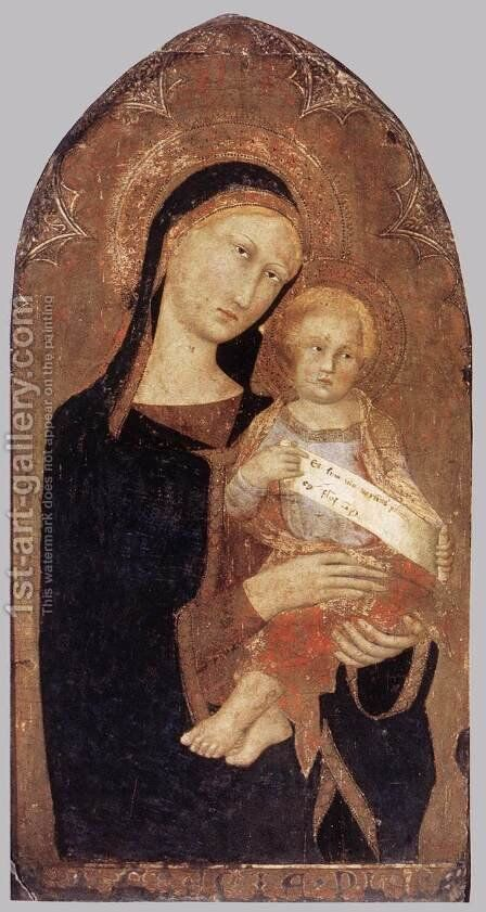 Madonna and Child by Italian Unknown Master - Reproduction Oil Painting