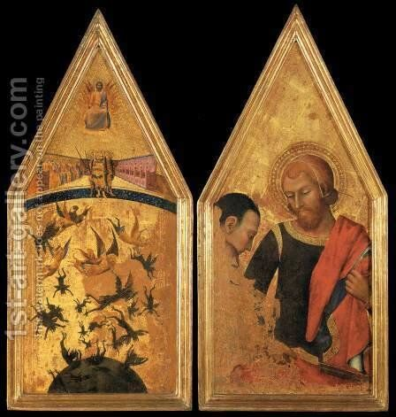 Altarpiece by Italian Unknown Master - Reproduction Oil Painting