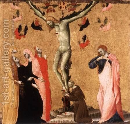 Crucifixion 2 by Italian Unknown Master - Reproduction Oil Painting