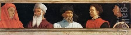 Five Famous Men by Italian Unknown Master - Reproduction Oil Painting