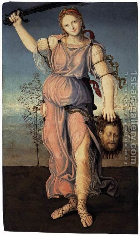 Judith 2 by Italian Unknown Master - Reproduction Oil Painting