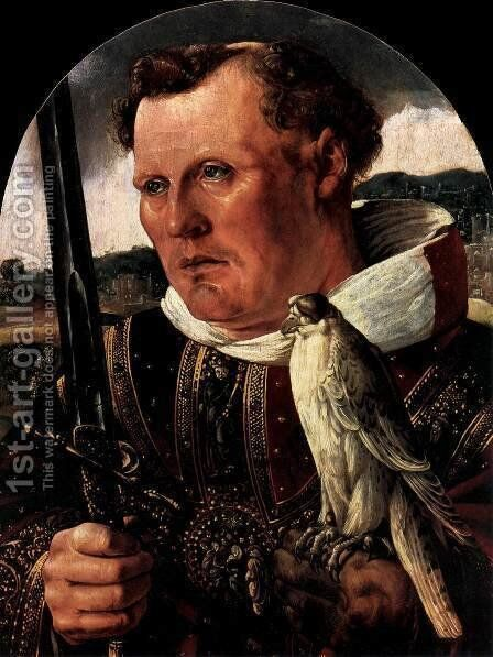 St Jerome of Noordwijk by Dutch Unknown Masters - Reproduction Oil Painting