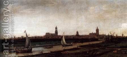 View of Delft from the Northwest by Hendrick Cornelisz. Vroom - Reproduction Oil Painting