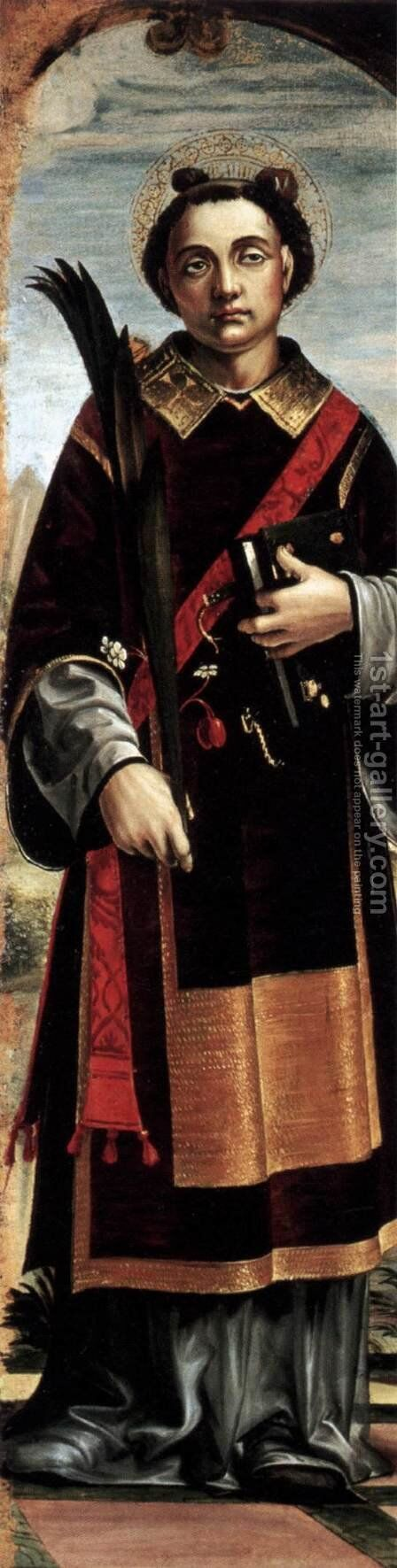 St Stephen by Bernadino Zenale - Reproduction Oil Painting