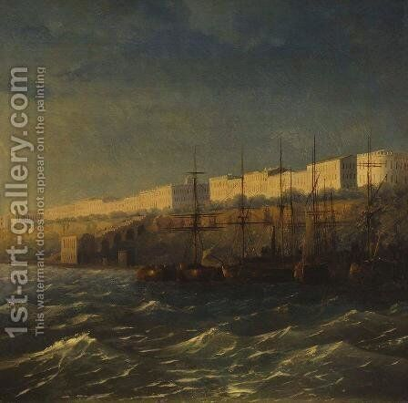 Odessa by Ivan Konstantinovich Aivazovsky - Reproduction Oil Painting