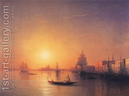 Venice 2 by Ivan Konstantinovich Aivazovsky - Reproduction Oil Painting