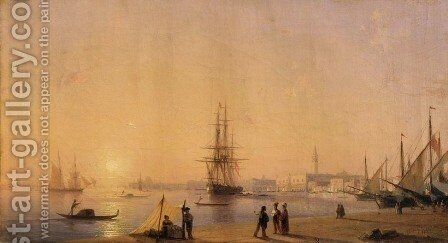 Venice 1 by Ivan Konstantinovich Aivazovsky - Reproduction Oil Painting