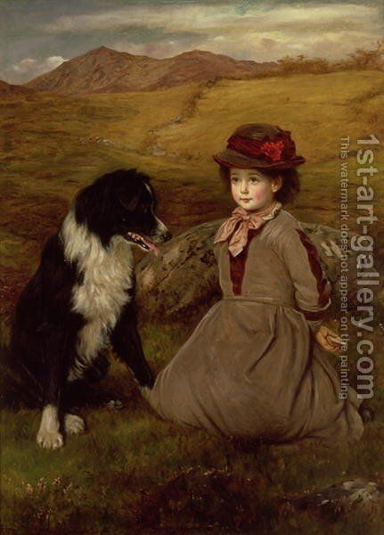 Which Hand Will You Take by James Archer - Reproduction Oil Painting