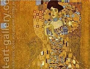 Adele Bloch-Bauer Detail 1907 by Gustav Klimt - Reproduction Oil Painting