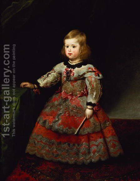 The Infanta Maria Margarita by Velazquez - Reproduction Oil Painting
