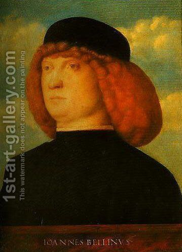 Portrait of a Man by Giovanni Bellini - Reproduction Oil Painting