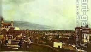 Kaunitz Palace And Park In Vienne 1758-60 by Bernardo Bellotto (Canaletto) - Reproduction Oil Painting