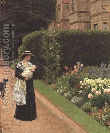 Lord of the Manor by Blair-leighton Edmund - Reproduction Oil Painting