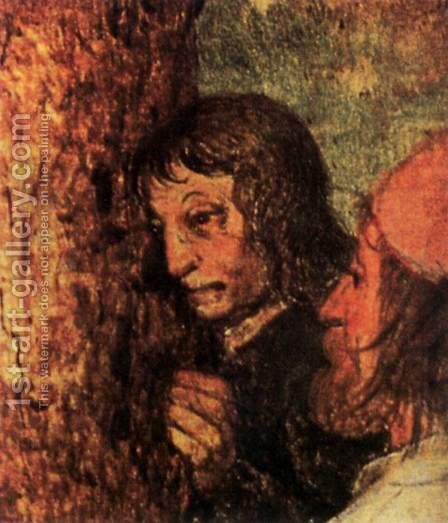 Christ Carrying the Cross (detail) 1564 8 by Jan The Elder Brueghel - Reproduction Oil Painting