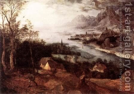 Landscape with the Parable of the Sower 1557 by Jan The Elder Brueghel - Reproduction Oil Painting