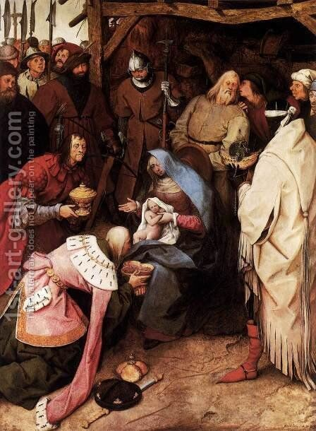 The Adoration of the Kings 1564 by Jan The Elder Brueghel - Reproduction Oil Painting