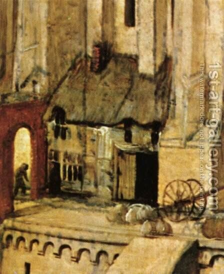 The Tower of Babel (detail) 1563 15 by Jan The Elder Brueghel - Reproduction Oil Painting