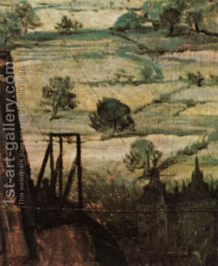 The Tower of Babel (detail) 1563 17 by Jan The Elder Brueghel - Reproduction Oil Painting