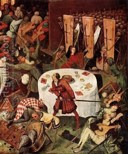 The Triumph of Death (detail) 1562 3 by Jan The Elder Brueghel - Reproduction Oil Painting