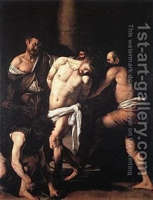 Flagellation by Caravaggio - Reproduction Oil Painting