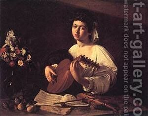 Lute Player by Caravaggio - Reproduction Oil Painting