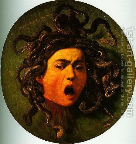Medusa by Caravaggio - Reproduction Oil Painting