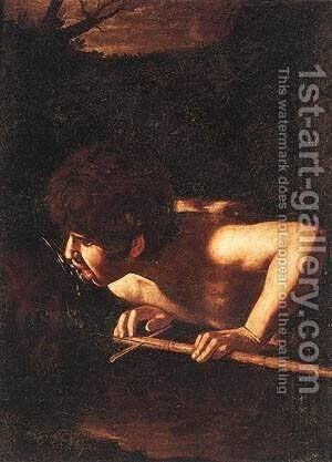 St John the Baptist at the Well by Caravaggio - Reproduction Oil Painting