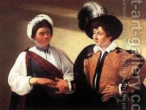 The Fortune Teller2 by Caravaggio - Reproduction Oil Painting