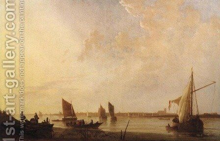 Dordrecht Sunrise 1650 by Aelbert Cuyp - Reproduction Oil Painting