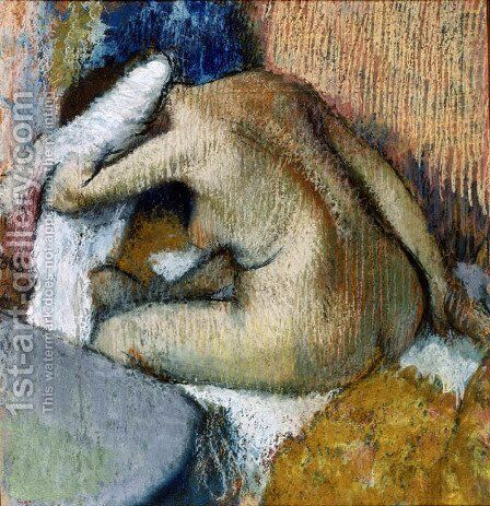 After the Bath 3 by Edgar Degas - Reproduction Oil Painting