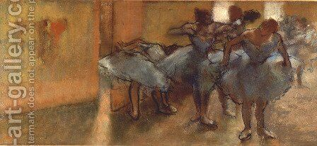 Dancers in the Foyer by Edgar Degas - Reproduction Oil Painting