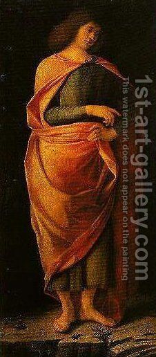Prophet by Benedetto Diana - Reproduction Oil Painting