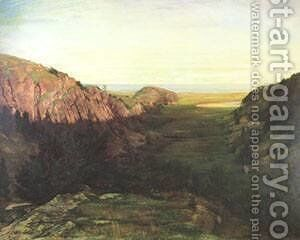 The Last Valley by Jeno Gabor - Reproduction Oil Painting