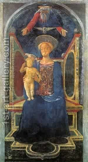 Madonna And Child 1435 by Domenico Di Michelino - Reproduction Oil Painting