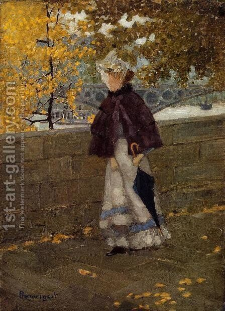Along the Seine 1892-1894 by Toulouse-Lautrec - Reproduction Oil Painting