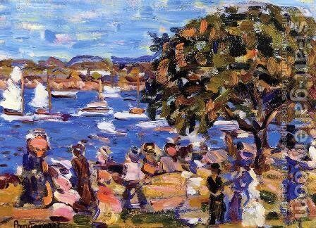 Buck's Harbor 1907-1910 by Toulouse-Lautrec - Reproduction Oil Painting