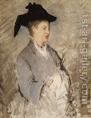 Madame Eouard Manet by Edouard Manet - Reproduction Oil Painting