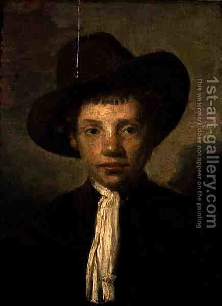 Head of a Boy by Carel Fabritius - Reproduction Oil Painting