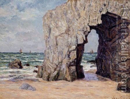 Ile de Brehat 1892 by Maxime Maufra - Reproduction Oil Painting
