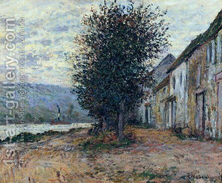The Banks of the Seine at 1878 by Claude Oscar Monet - Reproduction Oil Painting