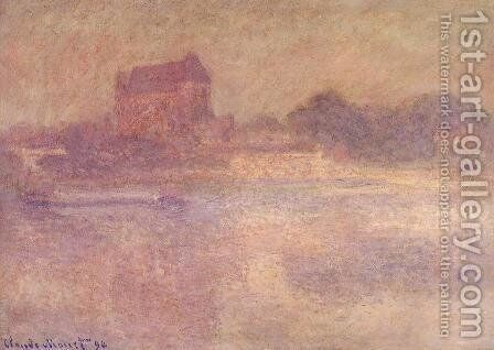 Vernon Church in the Fog 1894 by Claude Oscar Monet - Reproduction Oil Painting