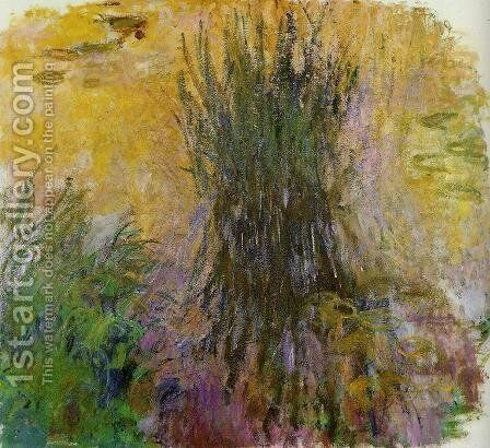 Water-Lilies9 1914-1917 by Claude Oscar Monet - Reproduction Oil Painting