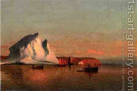 A Calm Afternoon the Coast of Labrador  1875 by Jean-Louis Forain - Reproduction Oil Painting