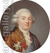 Louis XVI (1754   1793) King of France 1790 by Jean-Laurent Mosnier - Reproduction Oil Painting