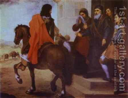 The Departure Of The Prodigal Son 1660s by Bartolome Esteban Murillo - Reproduction Oil Painting