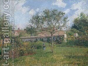 A Corner of the Meadow at Eragny 1902 by Camille Pissarro - Reproduction Oil Painting