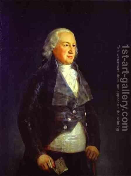 Don Pedro Duke Of Osuna 1790-1800 by Goya - Reproduction Oil Painting